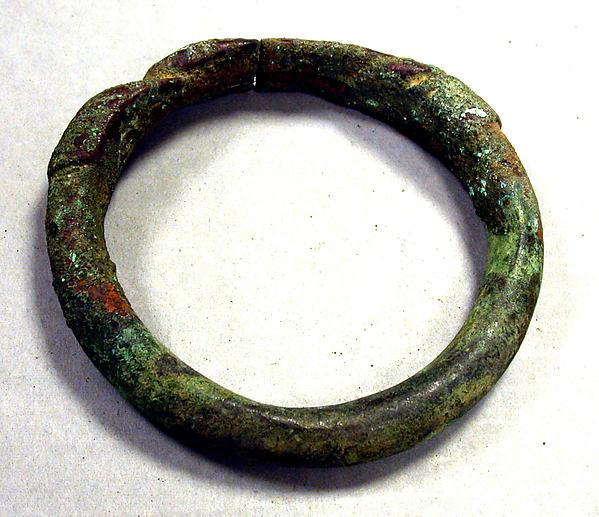 Bracelet, Copper alloy, Djenné peoples