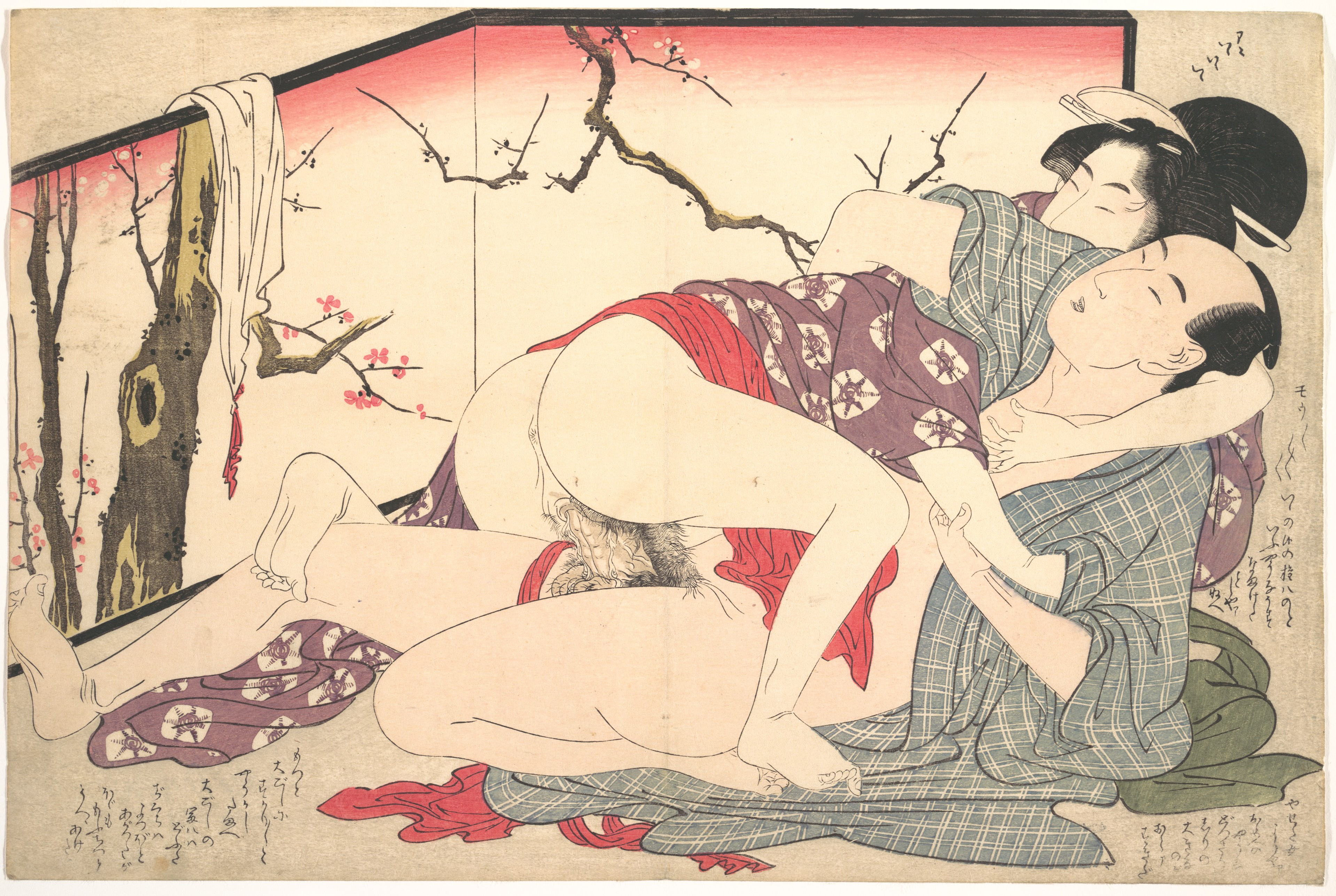 Japanese woodblock erotic — photo 7