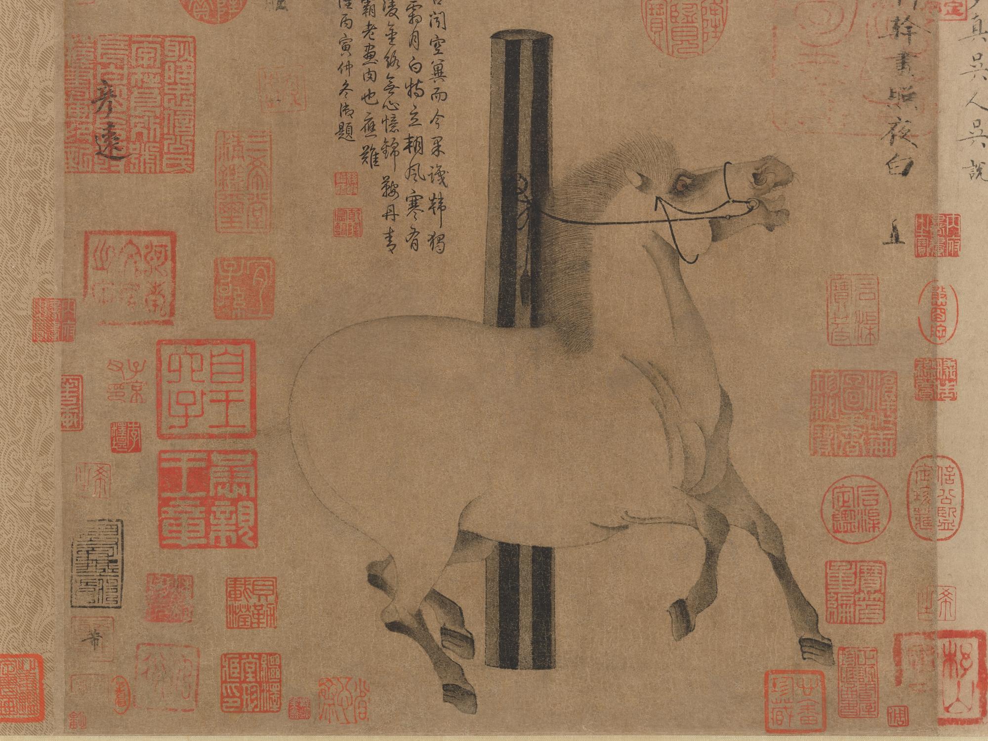 Han Gan Night Shining White China Tang Dynasty 618 907 The Metropolitan Museum Of Art