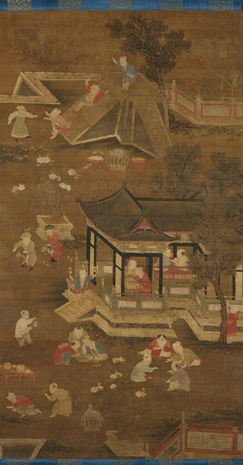 Unidentified Artist | Children playing in the palace