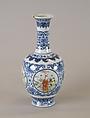 Vase, Porcelain painted in underglaze blue and overglaze famille verte enamels, China
