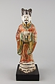 Statuette of Official, Earthenware (Cizhou ware), China