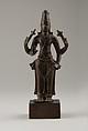 Standing Vishnu, Copper alloy, India (Tamil Nadu)