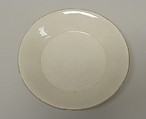 Dish with Hexafoil Rim, Porcelain with incised design under ivory-white glaze (Ding ware), China
