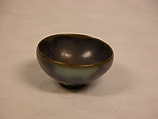 Small bowl, Stoneware with purple-blue glaze (Jun ware), China