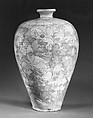 Vase, Stoneware with sgraffito decoration (Cizhou ware), China