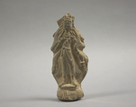 Votive Tablet, Clay, China