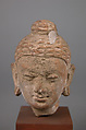 Head of Buddha, Stucco, Pakistan (ancient region of Gandhara)