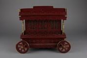 Jewel Box, Lacquer, brass, China