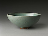 Bowl, Stoneware with crackled glaze (Jun ware), China