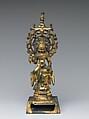 Bodhisattva Avalokiteshvara (Guanyin), Gilt bronze, China