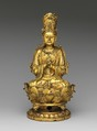 Buddha Vairocana (Dari), Gilt bronze; lost-wax cast, China