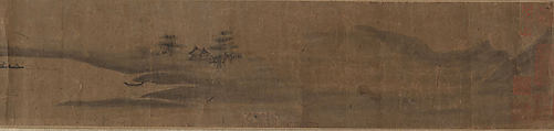 Miniature Landscape, Unidentified Artist, Two handscrolls; ink on paper, China