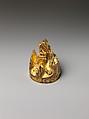 Lid of Incense Burner, Gilded bronze, China