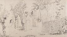 Paragons of Loyalty and Filial Piety, Wang Shanggong (Chinese, active 16th century), Handscroll; ink on paper, China