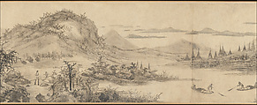 Joys of the Fisherman, Wang Fu (Chinese, 1362–1416), Handscroll; ink on paper, China
