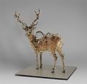PixCell-Deer#24, Kohei Nawa (Japanese, born 1975), Mixed media; taxidermied deer with artificial crystal glass, Japan