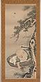 The God of Good Fortune Jurōjin, Soga Shōhaku (Japanese, 1730–1781), Hanging scroll; ink and color on paper, Japan