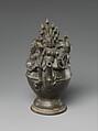 Ritual Ewer with Manasa, the Snake Goddess, Bronze, India (probably Bihar),