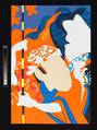 Doll Festival (Onna no Matsuri), Ushio Shinohara (Japanese, born Tokyo 1932), Triptych of color screen prints on paper; edition 1/100, Japan