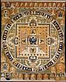 Vajrabhairava Mandala, Silk tapestry (kesi), China
