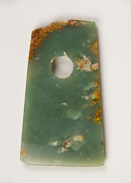 Hatchet, Nephrite, China