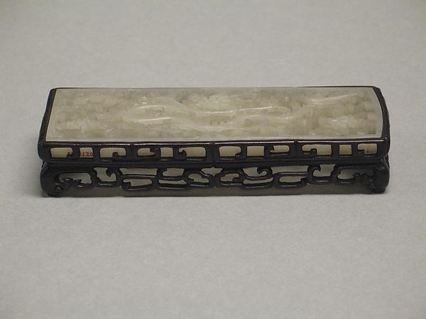 Belt plaque, Jade (nephrite), China