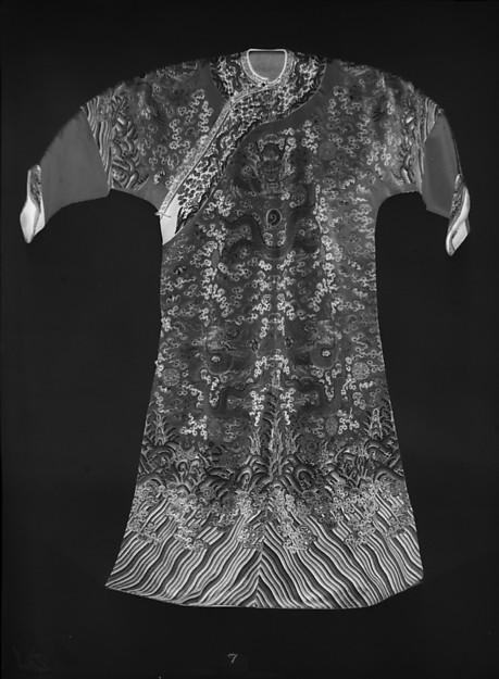 Imperial Court Robe, Silk, metallic thread, China