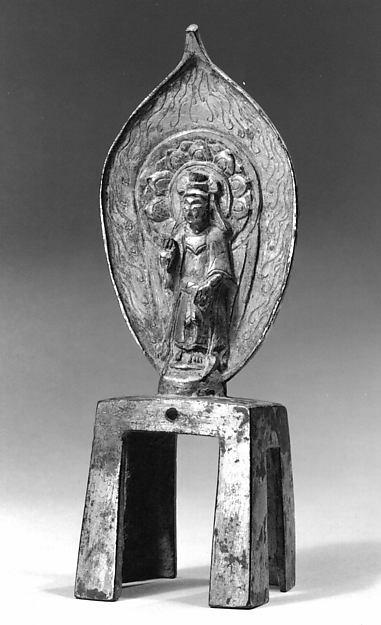 Figure, Gilt bronze, China