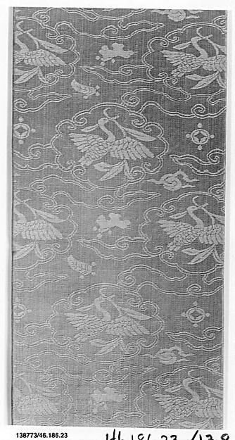 Sutra Cover, Silk satin damask, China