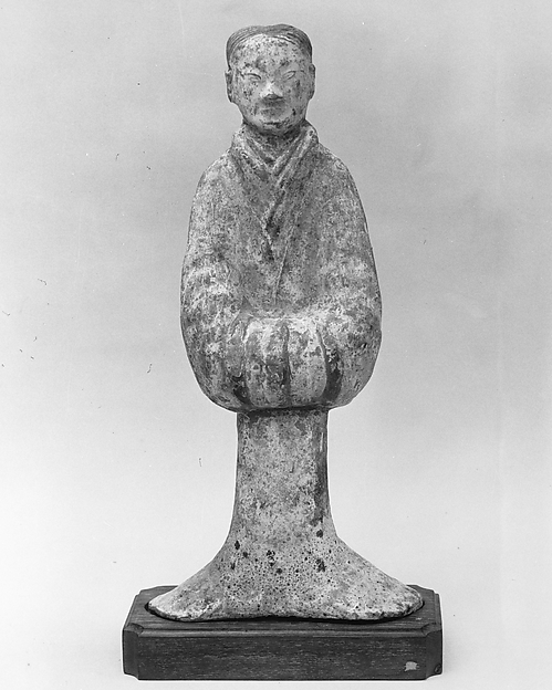 Figure of a Woman, Pottery, China