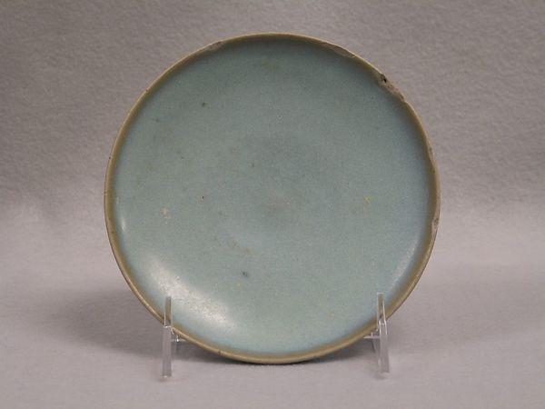 Saucer, Pottery (Jun ware), China