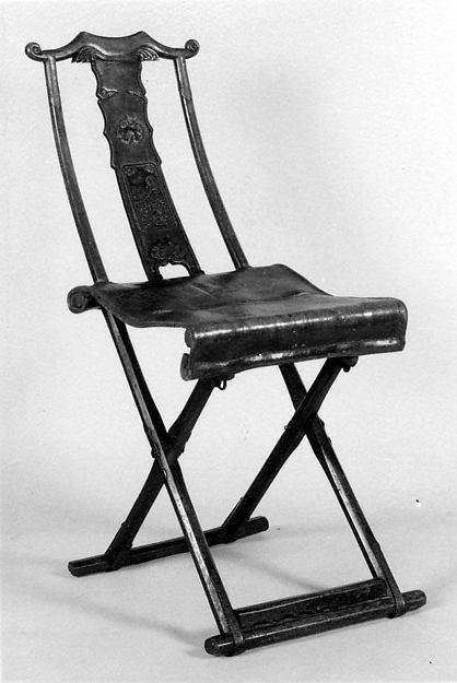 Folding Chair, Wood, China