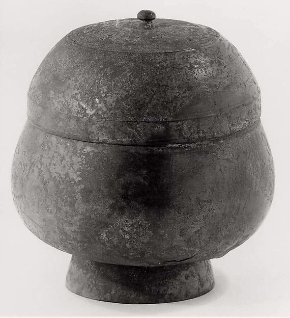 Ritual Vessel with a Cover, Bronze, Korea