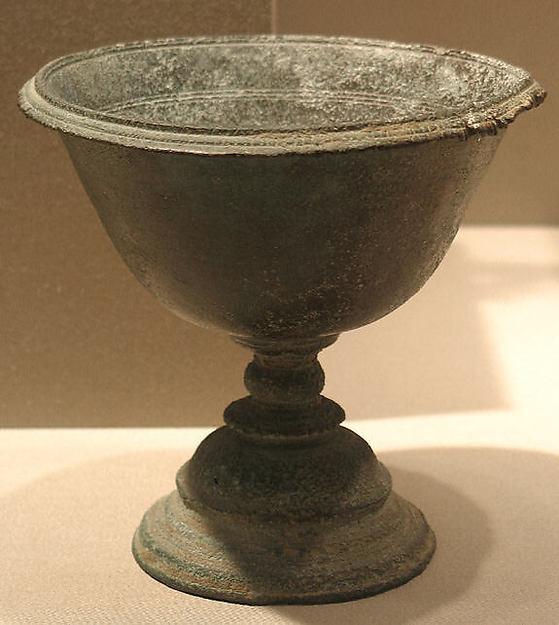 Chalice, Bronze, India (Bihar)