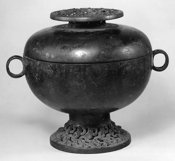 Grain Serving Vessel (Dou), Bronze, China