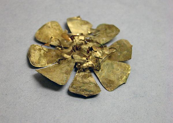 Lotus (Pripih), Gold, Indonesia (Java)