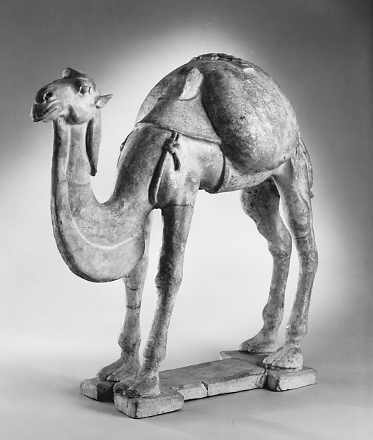 Figure of a Camel, Earthenware, China