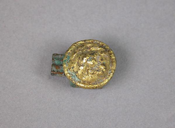 Ornament, Gilt bronze, China