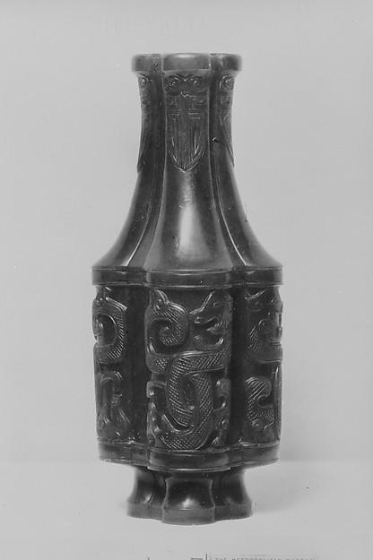 Vase, Nephrite, China
