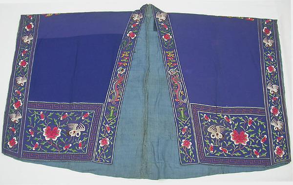 Daoist Robe (?), Silk, wool, China