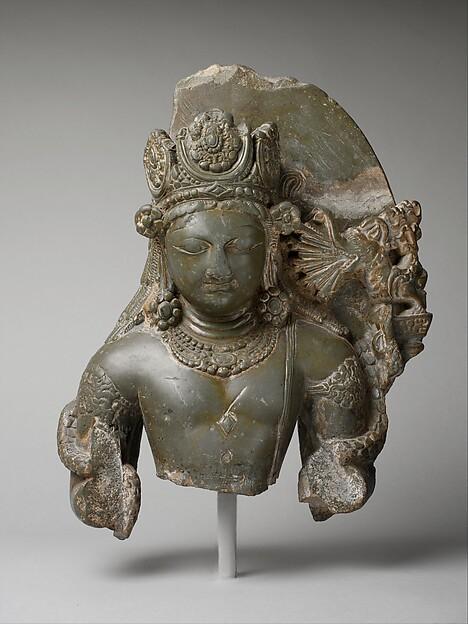 Kamadeva, the God of Love, Stone, India (Jammu and Kashmir, ancient kingdom of Kashmir)