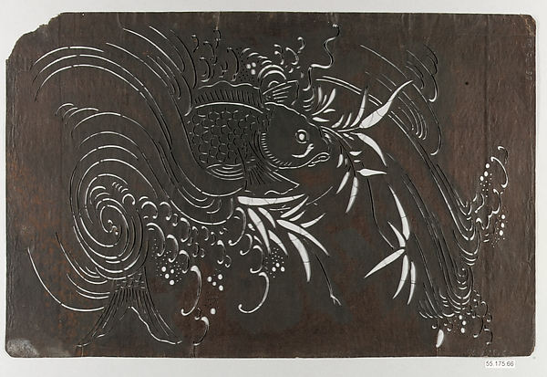 Stencil, Paper, Japan