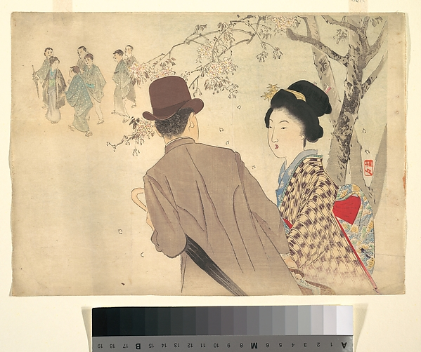 Scent and Shadow, Takeuchi Keishū (Japanese, 1861–1943), Polychrome woodblock print; ink and color on paper, Japan