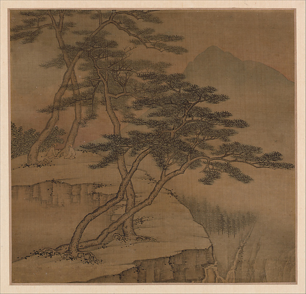 Landscapes in the styles of old masters, Gao Cen (Chinese, active 1643–after 1682), Album of ten leaves; ink and color on silk, China