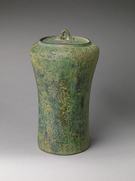 Bell (Dui), Bronze, China