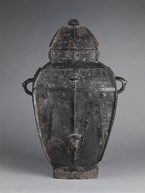 Covered Vessel, Bronze, China