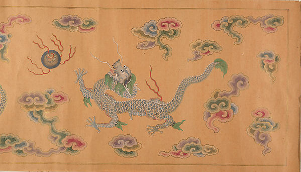Varieties of Lychee Fruit, Unidentified Artist, Handscroll; ink and color on silk, China