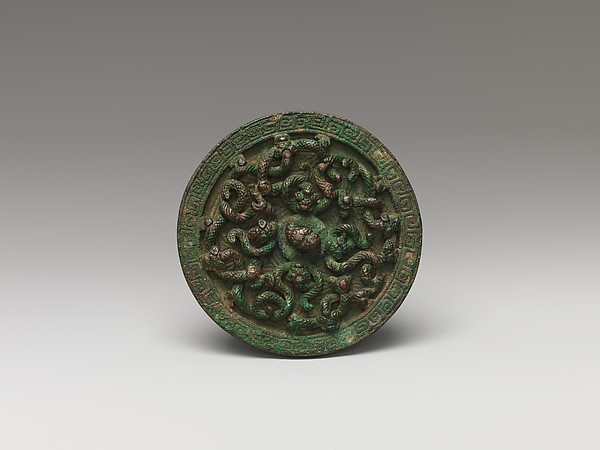 Mirror, Bronze, China