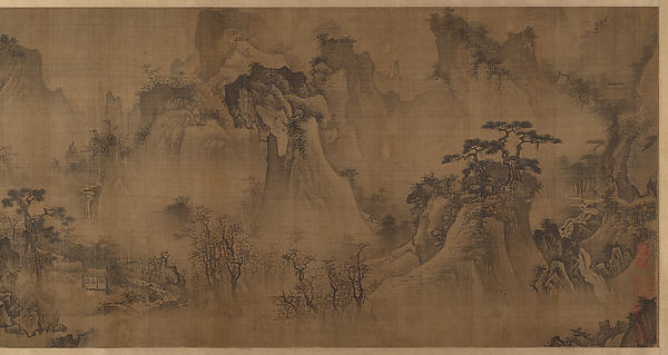 The Four Seasons, Unidentified Artist Chinese, active 15th century, Handscroll; ink and color on silk, China